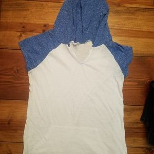 Tops - Hoodie t-shirt workout top